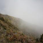 Krater vom Trail aus gesehen